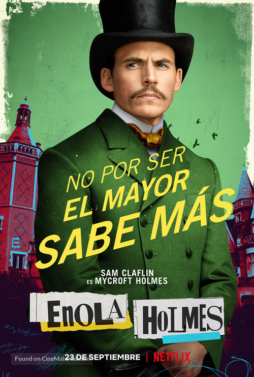Enola Holmes - Spanish Movie Poster