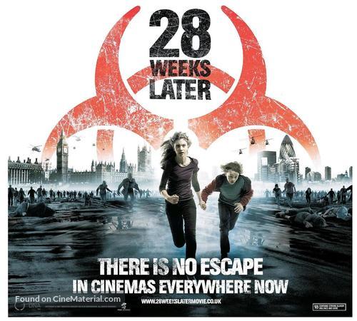 28 Weeks Later - British Movie Poster