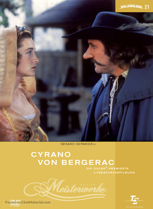 Cyrano de Bergerac - German Movie Cover