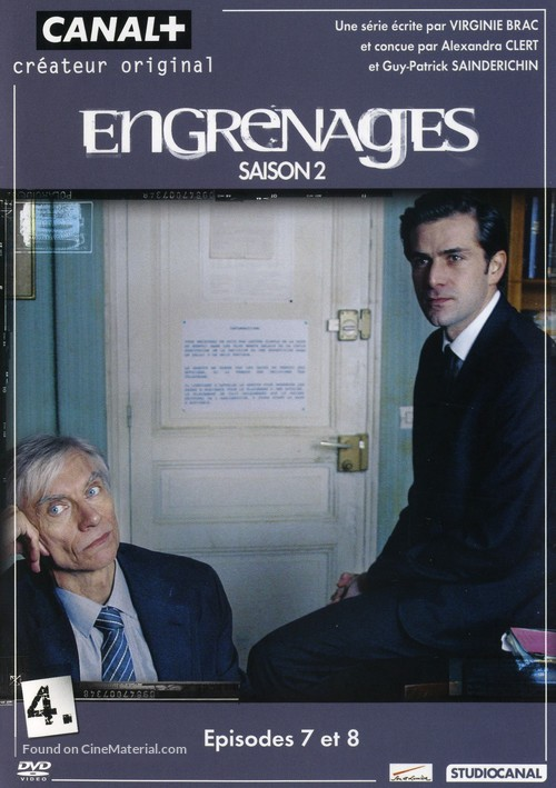 """""""Engrenages"""" - French DVD movie cover"""