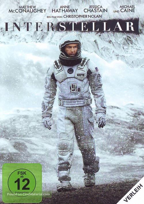 Interstellar - German Movie Cover