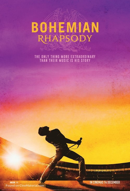 Bohemian Rhapsody - South African Movie Poster