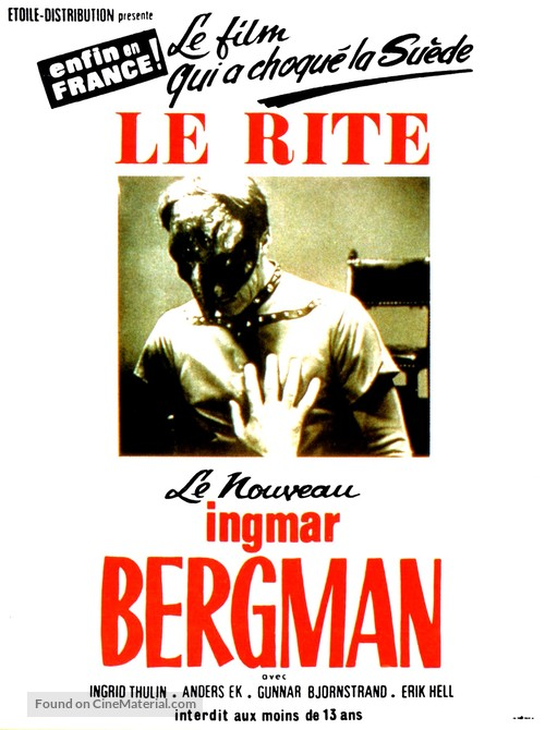 Riten - French Movie Poster