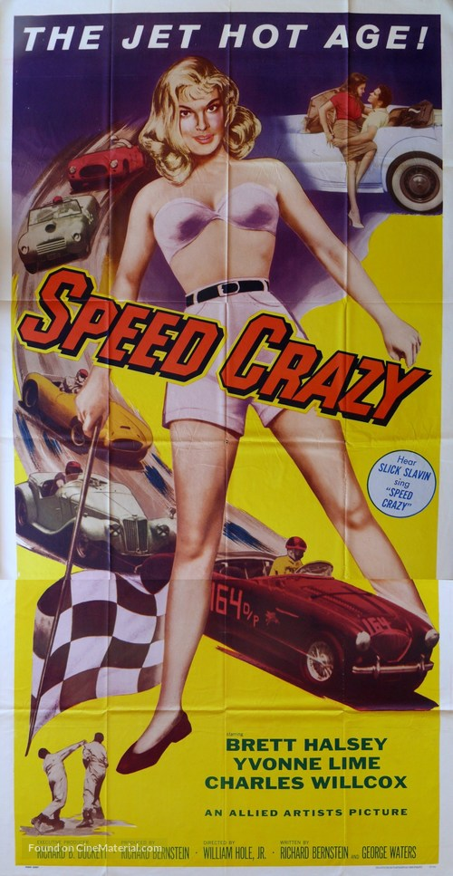 Speed crazy movie poster