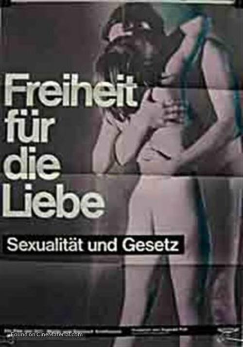 Freiheit für die Liebe (1969) German movie poster
