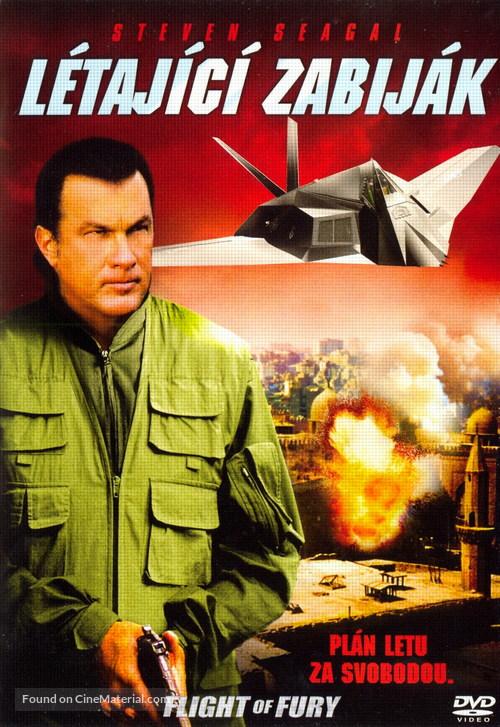 Flight of Fury - Czech poster