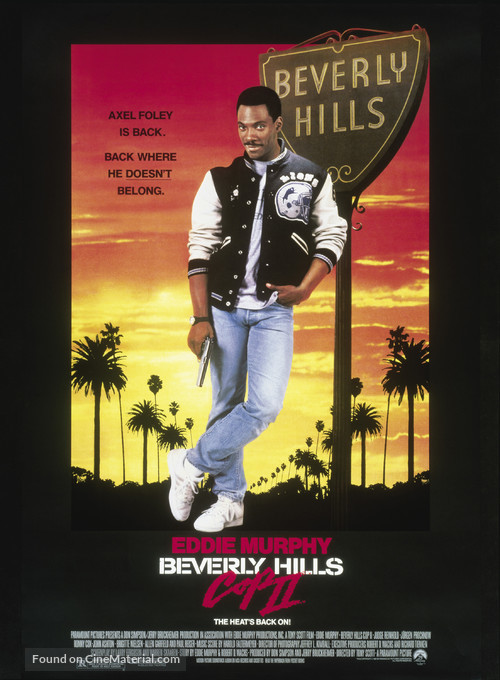 Beverly Hills Cop 2 - Movie Poster