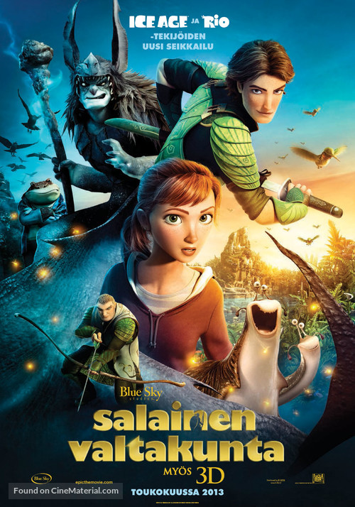 Epic - Finnish Movie Poster