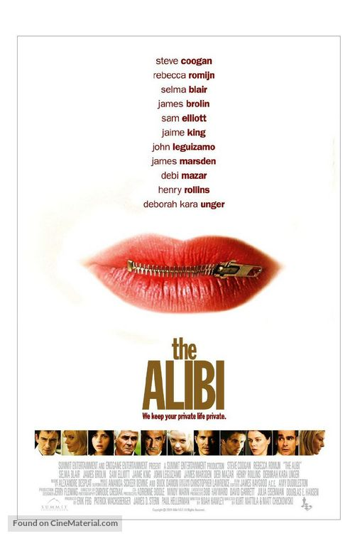 The Alibi - Movie Poster