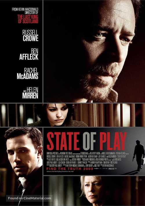 State of Play - British Movie Poster