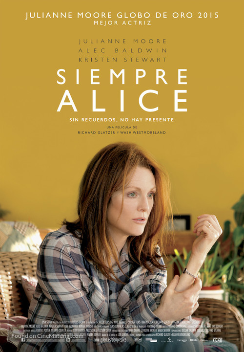 Still Alice - Spanish Movie Poster