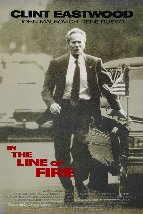 In The Line Of Fire - Movie Poster