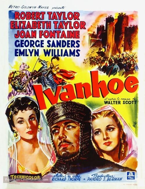 Ivanhoe - Belgian Movie Poster