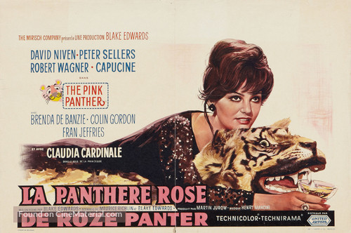 The Pink Panther - Belgian Movie Poster