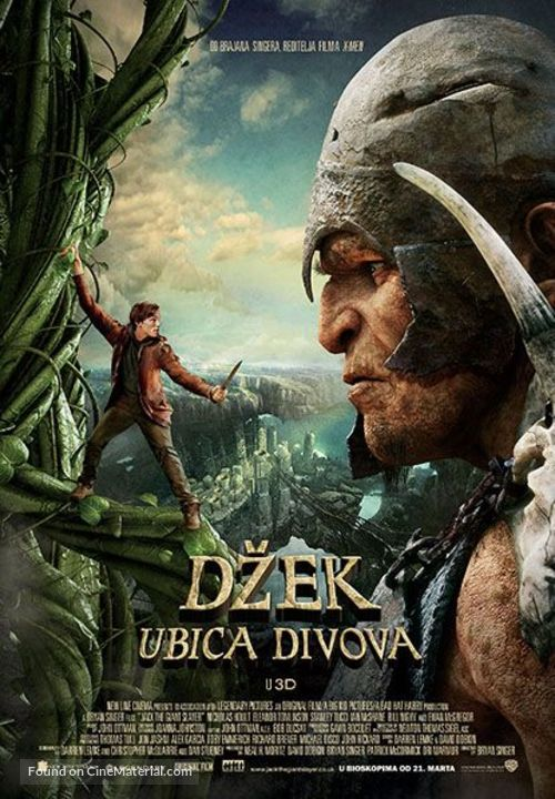 Jack the Giant Slayer - Serbian Movie Poster