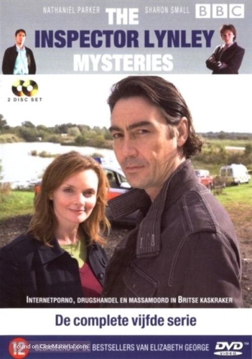 """""""The Inspector Lynley Mysteries"""" - Belgian DVD movie cover"""