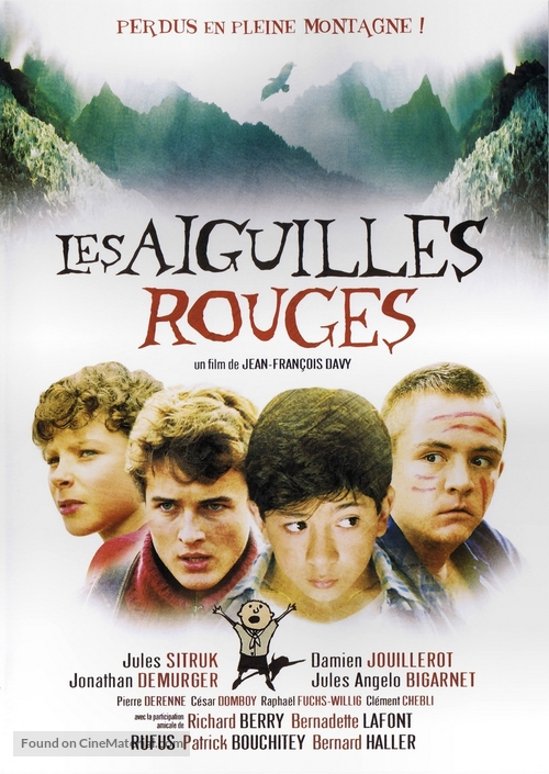 Aiguilles rouges, Les - French DVD movie cover