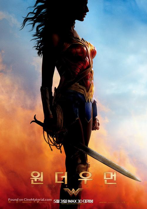 Wonder Woman - South Korean Movie Poster