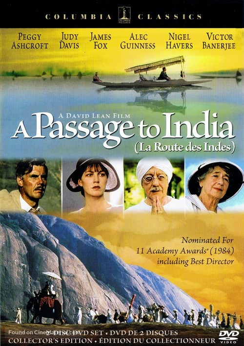 A Passage to India - Canadian Movie Cover