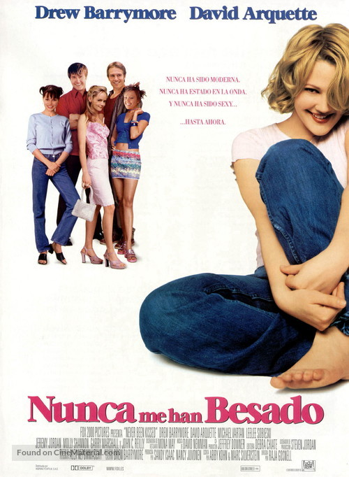 Never Been Kissed - Spanish Movie Poster