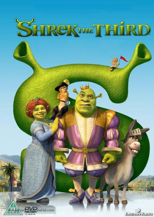Shrek the Third - Swedish Movie Cover