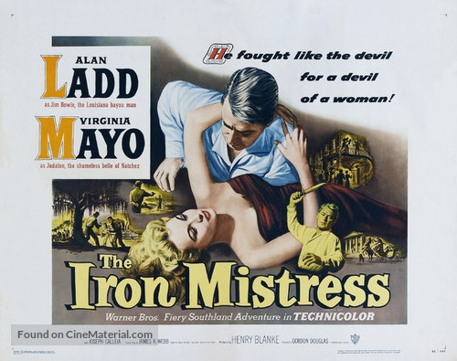 The Iron Mistress - Movie Poster