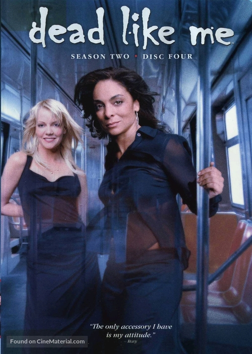 """""""Dead Like Me"""" - DVD movie cover"""