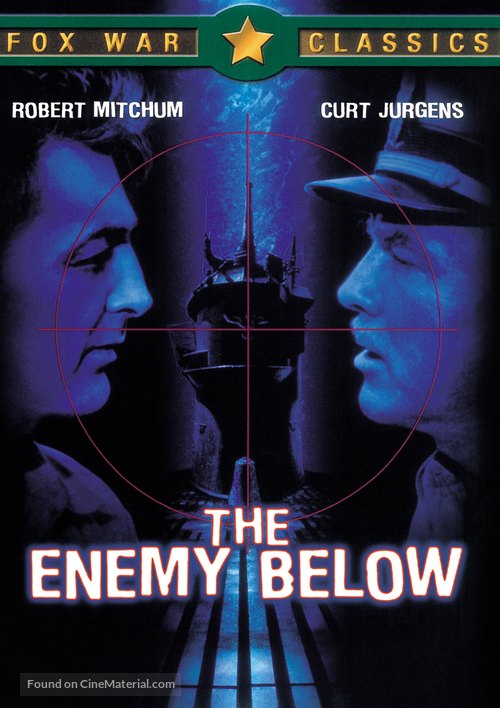 The Enemy Below - DVD movie cover