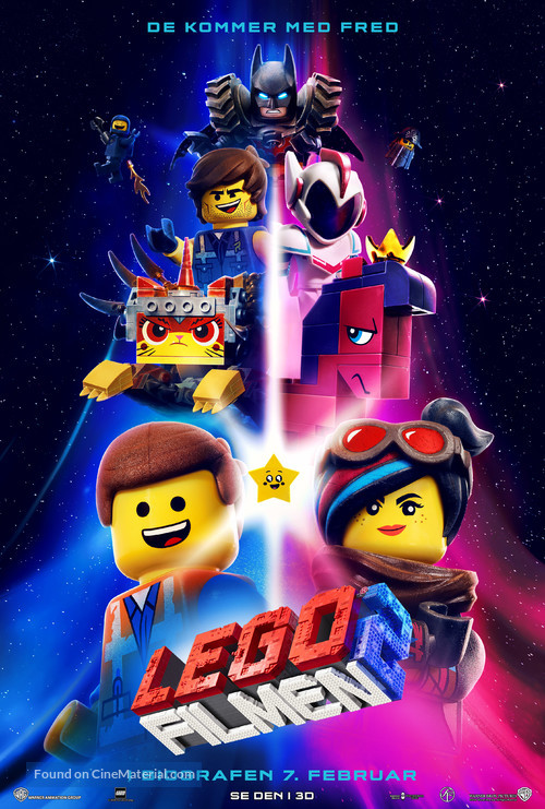 The Lego Movie 2: The Second Part - Danish Movie Poster