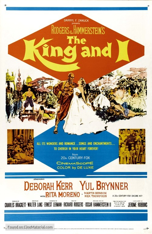 The King and I - Re-release poster