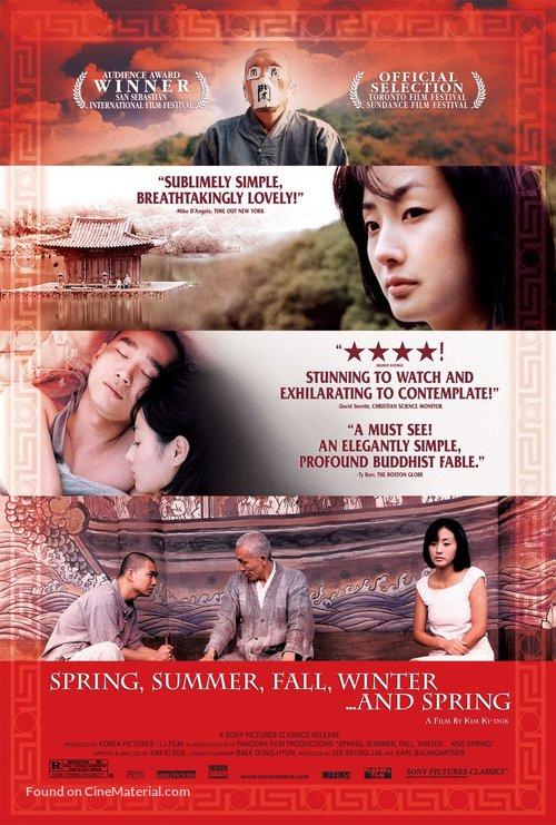 Bom yeoreum gaeul gyeoul geurigo bom - Movie Poster
