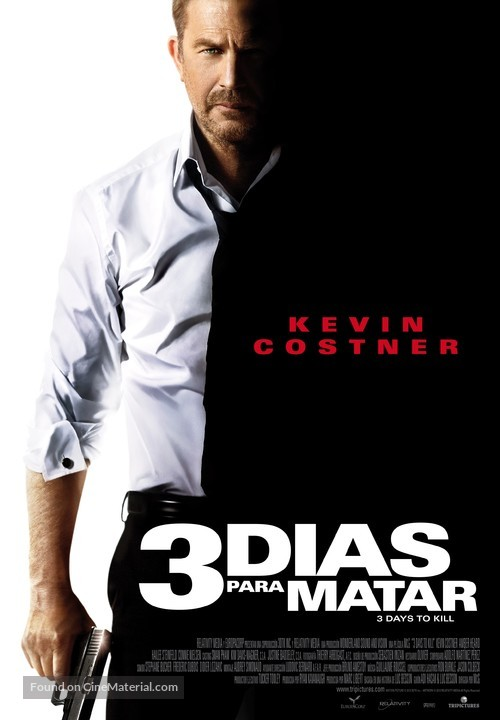 3 Days to Kill - Spanish Movie Poster