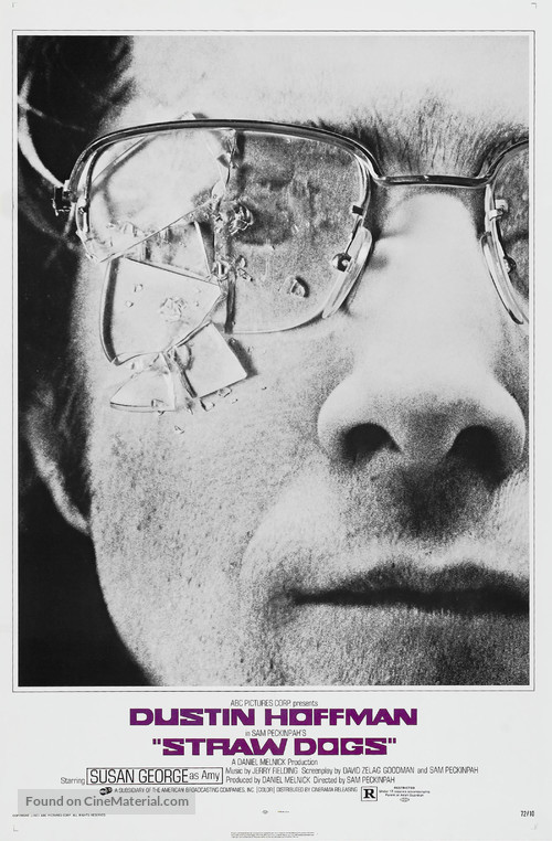 Straw Dogs - Movie Poster