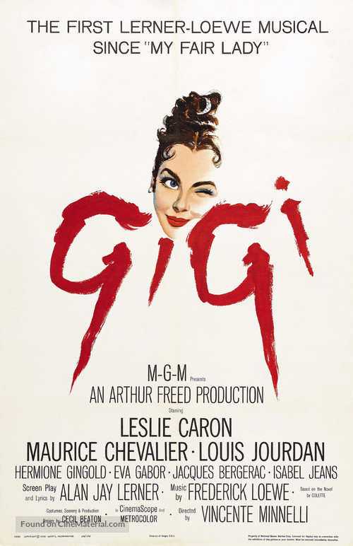 Gigi - Movie Poster
