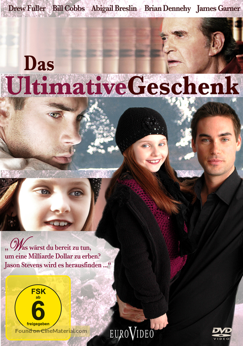 The Ultimate Gift - German Movie Cover