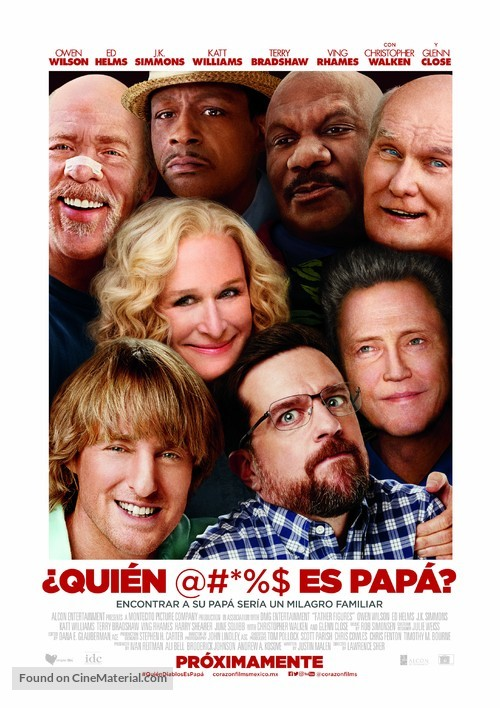 Father Figures - Mexican Movie Poster