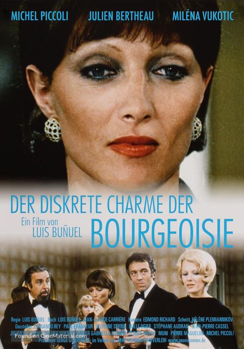 Le charme discret de la bourgeoisie - German Movie Poster