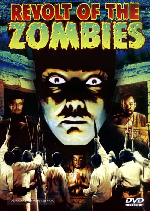 Revolt of the Zombies - DVD cover