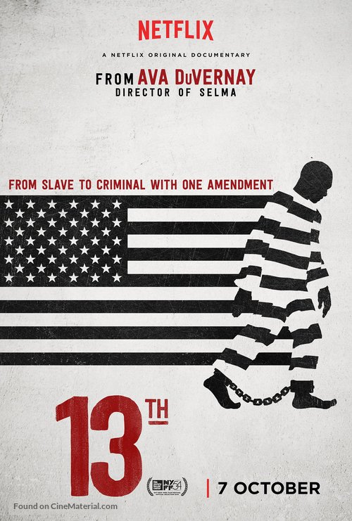The 13th - British Movie Poster