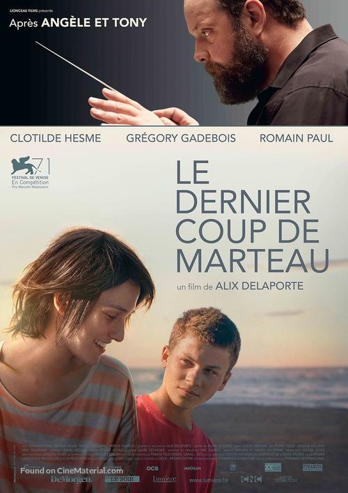 Le dernier coup de marteau - Belgian Movie Poster