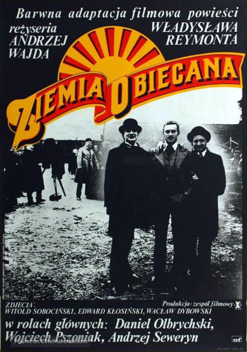 Ziemia obiecana - Polish Movie Poster