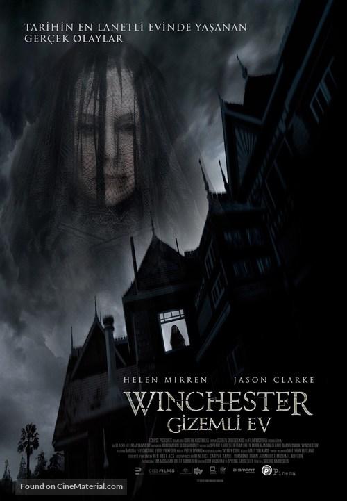 Winchester - Turkish Movie Poster