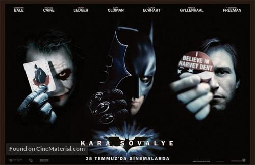 The Dark Knight - Turkish Movie Poster