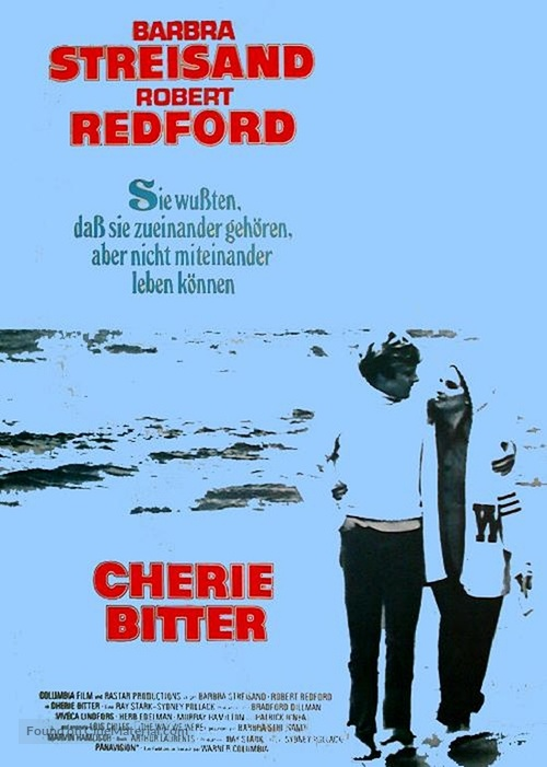 The Way We Were - German Movie Poster