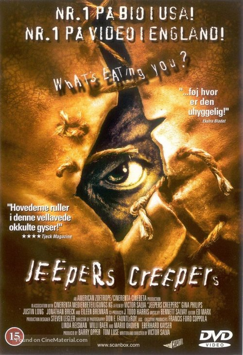 Jeepers Creepers - Danish Movie Cover