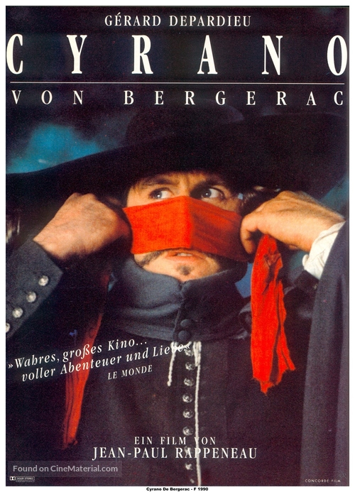 Cyrano de Bergerac - German Movie Poster