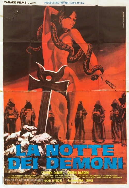 Werewolves on Wheels - Italian Movie Poster