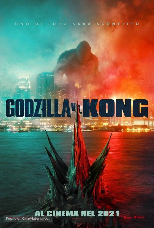 Godzilla vs. Kong - Italian Movie Poster