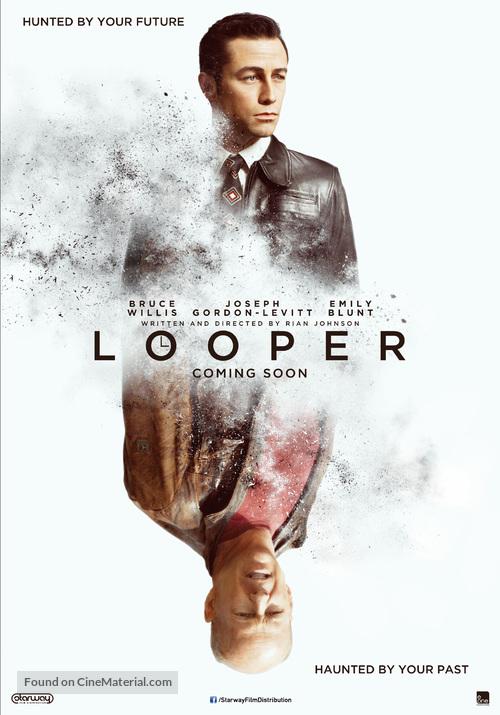 Looper - Dutch Movie Poster