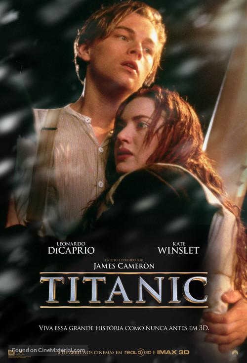 Titanic - Brazilian Movie Poster